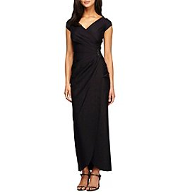 Alex Evenings® Beaded Side Dress