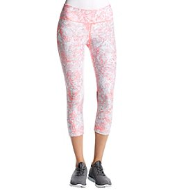 Calvin Klein Performance Shimmer Iridescent Cropped Leggings