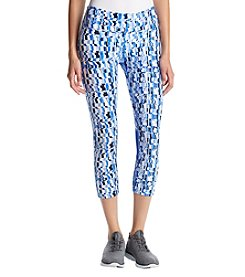 Calvin Klein Performance Electrolyte Print Cut Off Cropped Leggings