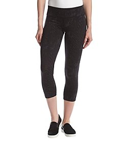 Calvin Klein Performance Snake Charmer Print Cropped Leggings