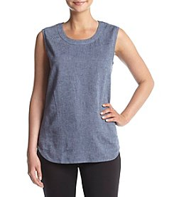 Anne Klein® Scoop Neck Blouse