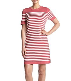 Anne Klein® Striped Breton Dress