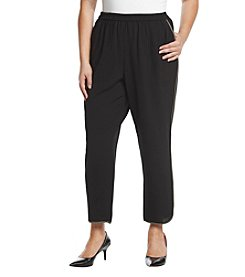 Nine West® Plus Size Crepe Pants