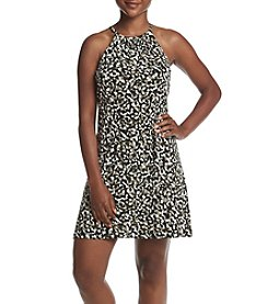MICHAEL Michael Kors® Petites' Camo Halter Dress