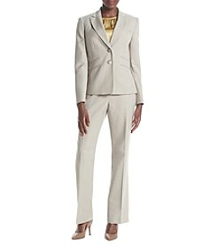 LeSuit® Plus Size Three Piece Pant Suit