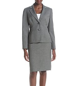 LeSuit® Plus Size Skirt Suit