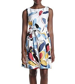 Anne Klein® Printed Flare Dress