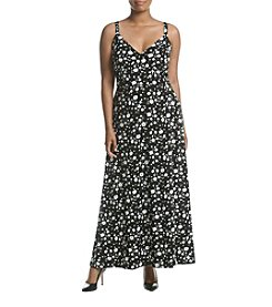 MICHAEL Michael Kors® Plus Size Nora Border Maxi Dress