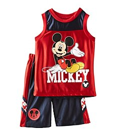 Mickey Mouse® Boys' 2T-7 2 Piece Mickey Mouse Shorts Set