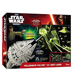 Uncle Milton Star Wars™ Science - Millennium Falcon™ UV Light Laser