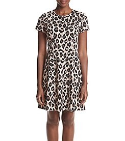 Jessica Howard® Animal Printed Ponte Knit Dress