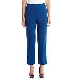 Alfred Dunner® Proportioned Short Ponte Pant