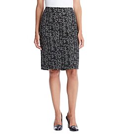 Nine West® Printed Slim Skirt