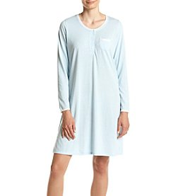 Miss Elaine® Striped Sleepshirt