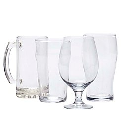 Refinery and Co. Four Piece Assorted Beer Glasses