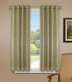 Versailles Home Fashions Bamboo Wood Curtain Panel with Grommets