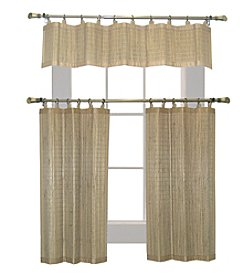 Versailles Home Fashions Bamboo Wood Ring Top Window Treatment