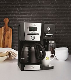 Mr. Coffee® 12- Cup Programmable Coffeemaker and Hot Shot Station