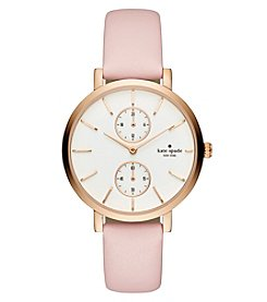 kate spade new york® Women's Light Pink Monterey Multifunction Watch