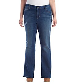 Ruff Hewn Plus Size Slim Boot Cut Jeans