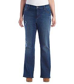 751d28114511b Ruff Hewn Plus Size Slim Boot Cut Jeans