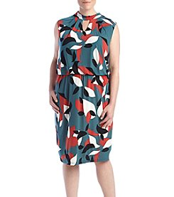 Nine West® Plus Size Printed Dress