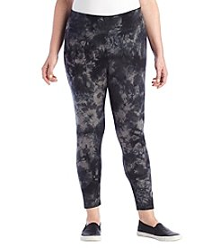 Calvin Klein Performance Plus Size Tie Dye Leggings