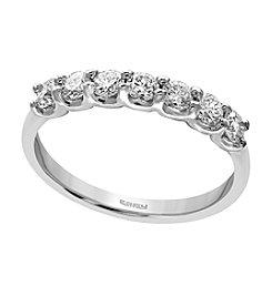 Effy 14k White Gold 55 Ct T W Diamond Ring