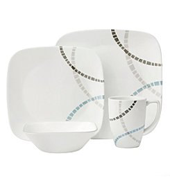 Corelle® Boutique™ Mosaic Bands 16-Piece Dinnerware Set