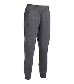 Under Armour® French Terry Ankle Crop Pants