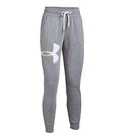 Under Armour® Favorite Fleece Twist Graphic Pants