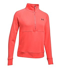 Under Armour® French Terry 1/2 Zip Shirt