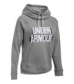 Under Armour® Favorite Fleece Graphic Pullover Top