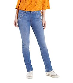 Levi's® Mid Rise Skinny Blue Jeans