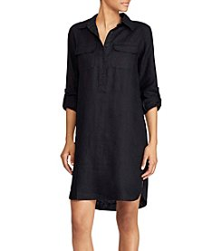 Lauren Ralph Lauren® Linen Shirt Dress