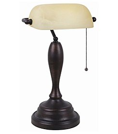 Catalina Lighting Bronze LED Banker's Lamp