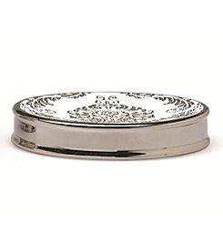 Moda at Home Damask Soap Dish