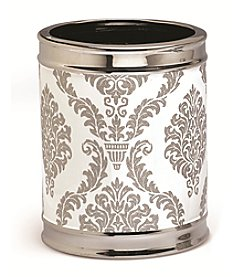 Moda at Home Damask Waste Basket