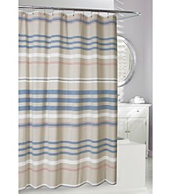 Moda at Home Restoration Fabric Shower Curtain