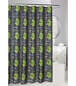 Moda at Home Cosmopolitian Cities Fabric Shower Curtain