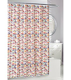 Moda at Home Thomson Trail Fabric Shower Curtain