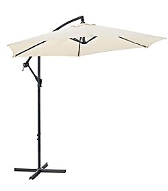 W. Designs 9' Cantaliever Patio Umbrella