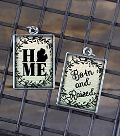 Juicy Christians Michigan Home Double Sided Pendant