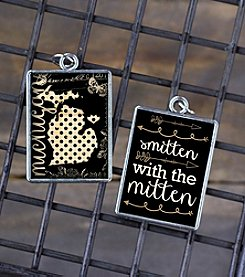 Juicy Christians Polka Dot Double Sided Pendant