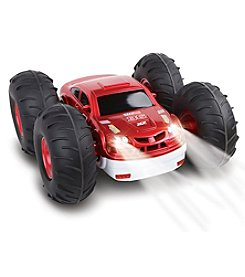 The Sharper Image® Remote Control Flip Stunt Rally Car