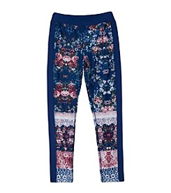 Amy Byer Girls' 7-16 Multi Print Leggings
