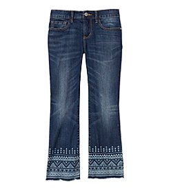 Jessica Simpson Girls' 7-16 Cherish Crop Flare Denim Jeans