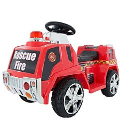 Lil' Rider Ride on Toy Fire Truck