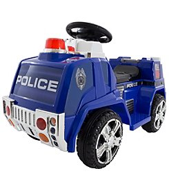 Lil' Rider Ride on Toy Police Truck