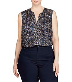Lauren Ralph Lauren® Plus Size Printed Top